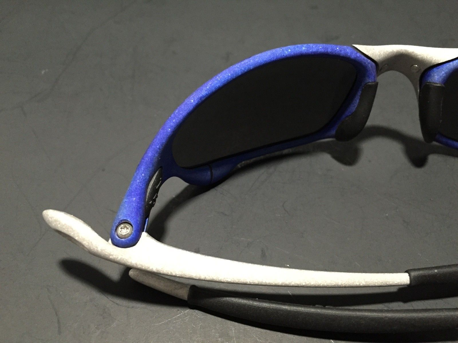 Anodized Juliet Dallas Cowboys colors Blue/Silver w/ OEM Ice Lenses - IMG_1783.JPG