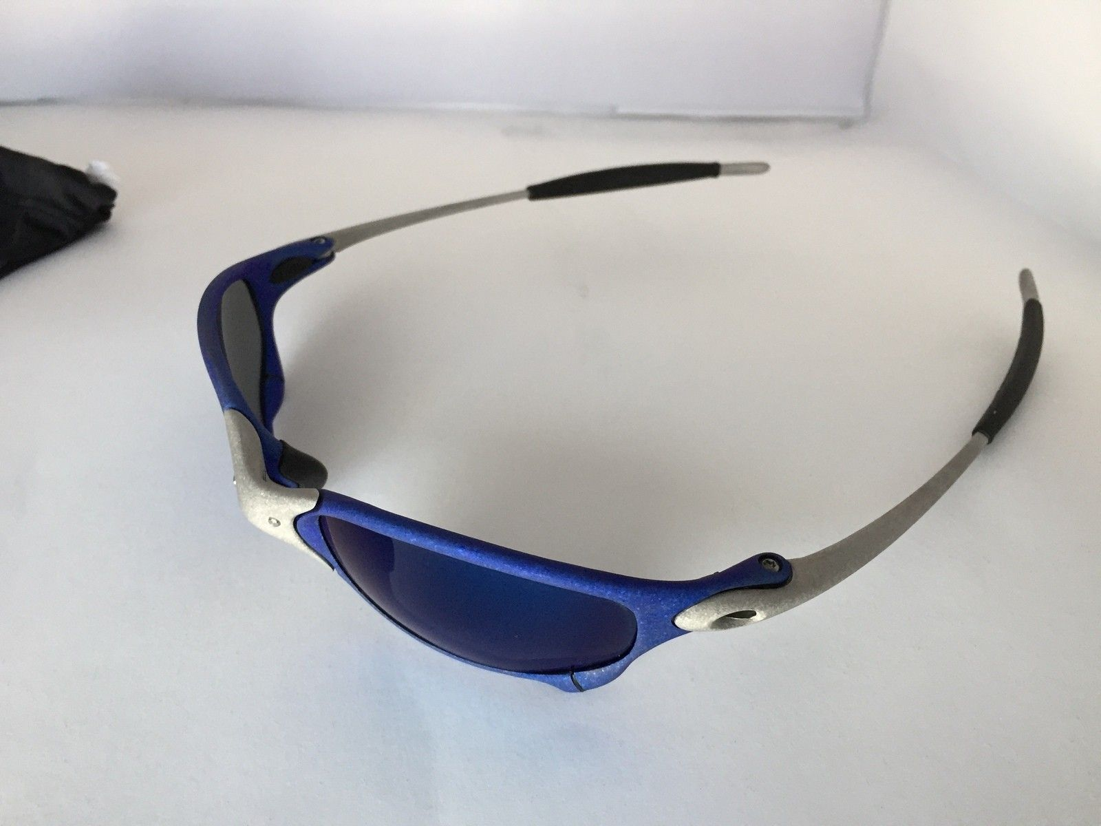 Anodized Juliet Dallas Cowboys colors Blue/Silver w/ OEM Ice Lenses - IMG_1784.JPG
