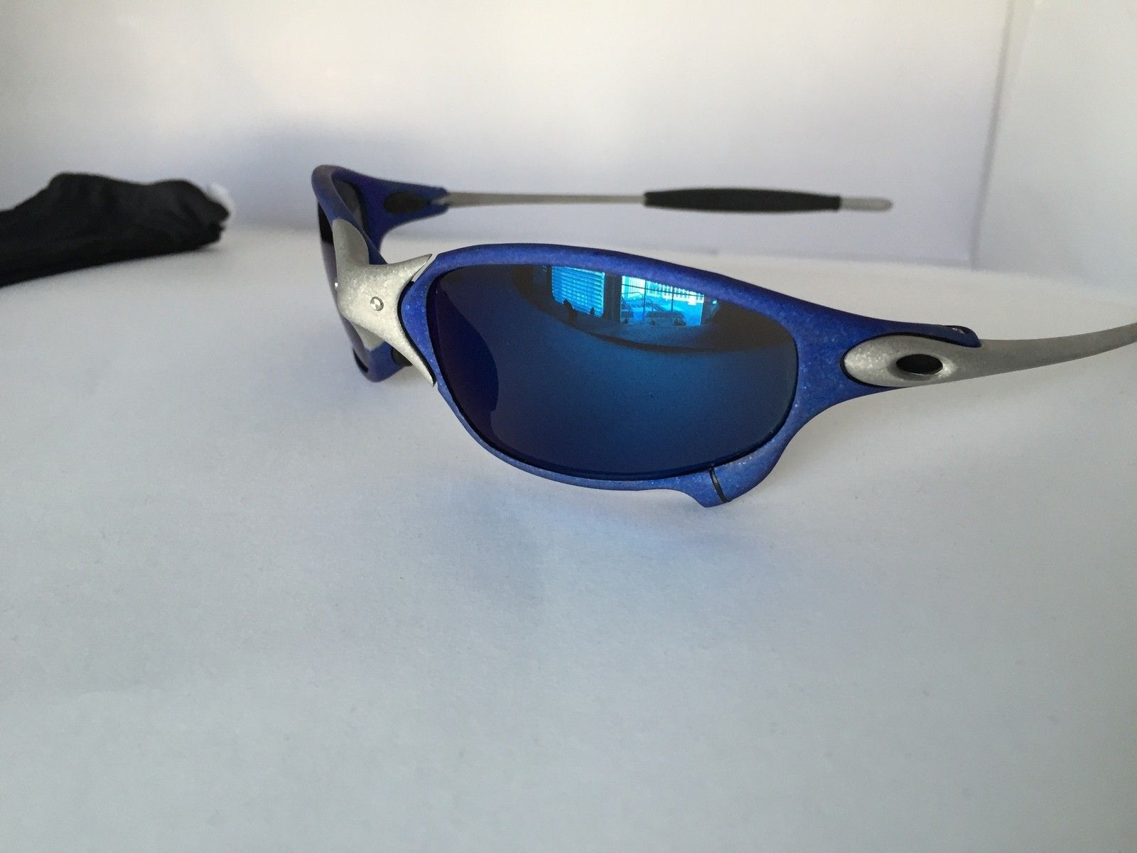 Anodized Juliet Dallas Cowboys colors Blue/Silver w/ OEM Ice Lenses - IMG_1785.JPG