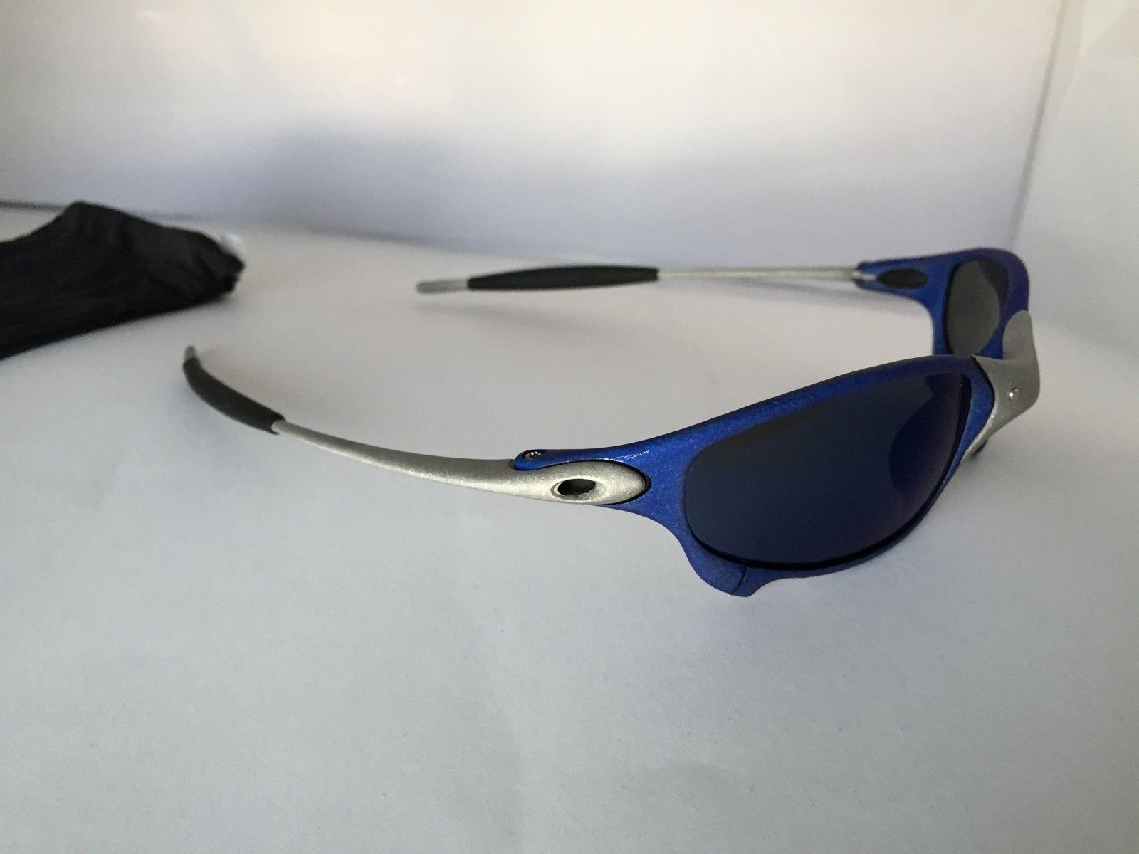 Anodized Juliet Dallas Cowboys colors Blue/Silver w/ OEM Ice Lenses - IMG_1786.JPG