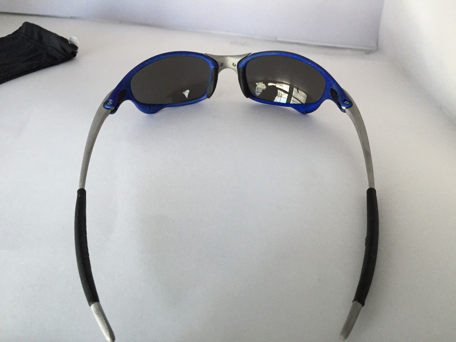 Anodized Juliet Dallas Cowboys colors Blue/Silver w/ OEM Ice Lenses - IMG_1788.JPG