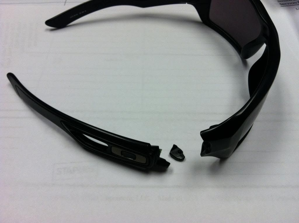 Eyepatch 2 Parts   Oakley Forum