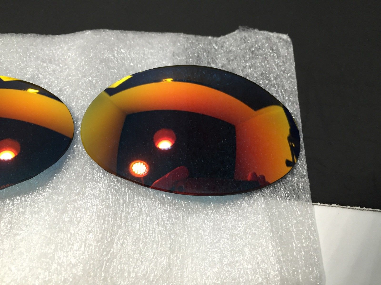 Custom Lenses Romeo 1 Ruby and Juliet Pos Red both New - IMG_1825_2.JPG