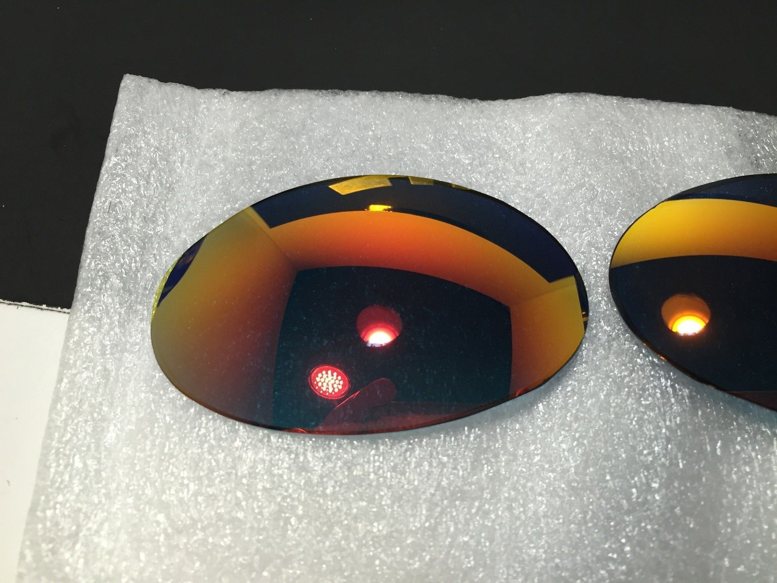 Custom Lenses Romeo 1 Ruby and Juliet Pos Red both New - IMG_1826_2.JPG