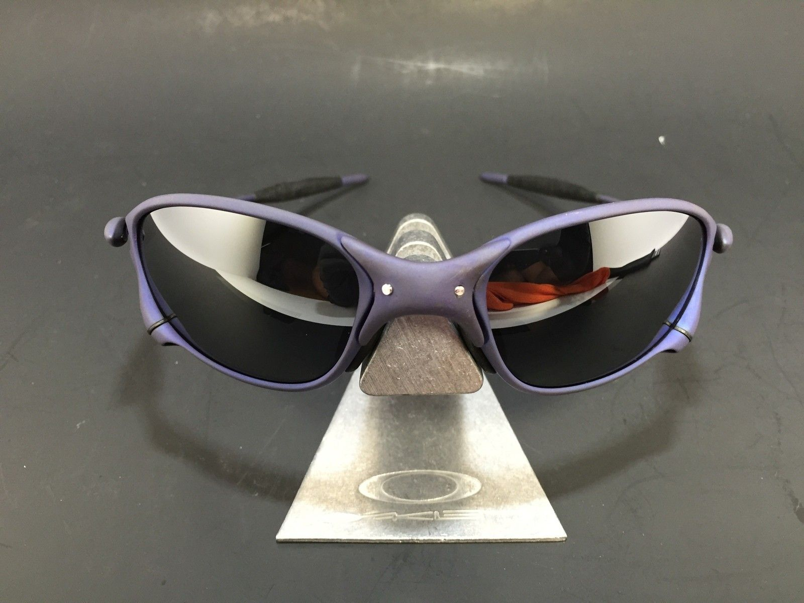 Anodized Purple X-Metal Finish XX Frame w/ OEM New Black Lenses - IMG_1851.JPG