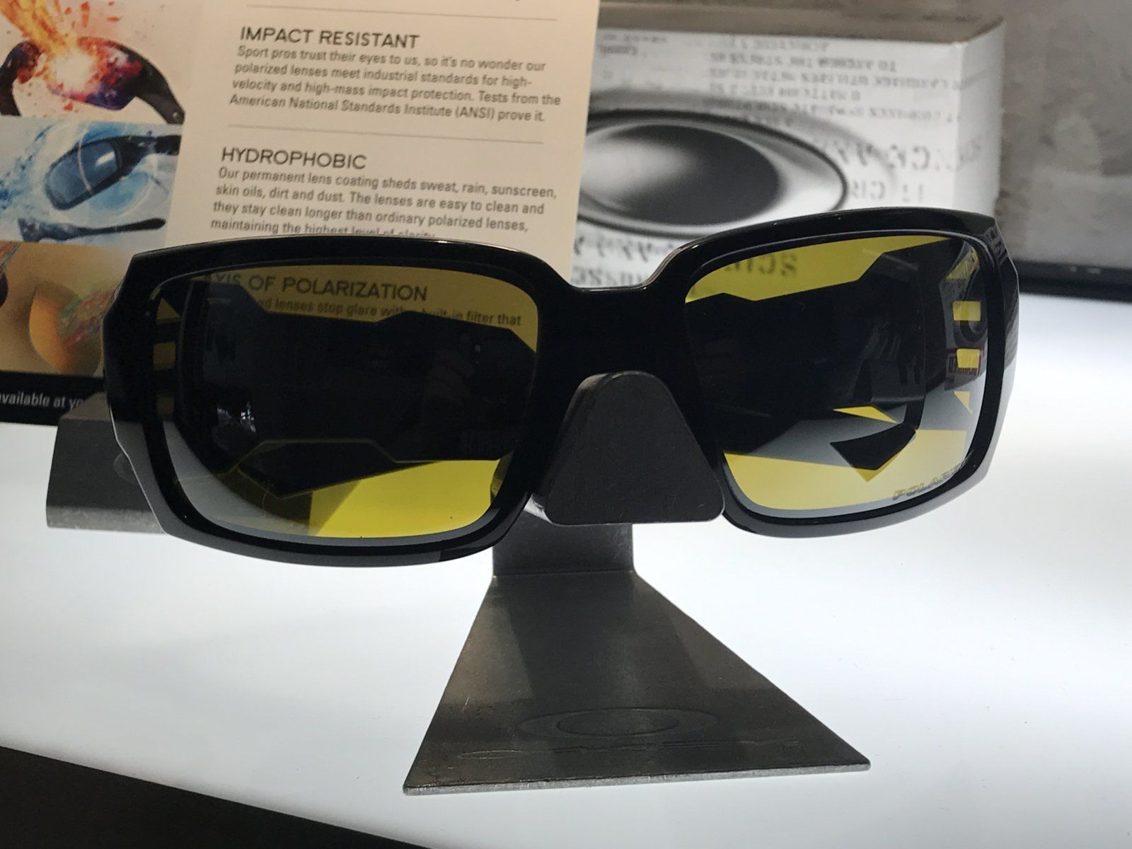 7a5c272c9e JPG Oakley Oil Drum Amber Black Iridium Polarized - Fullset - IMG 1887.