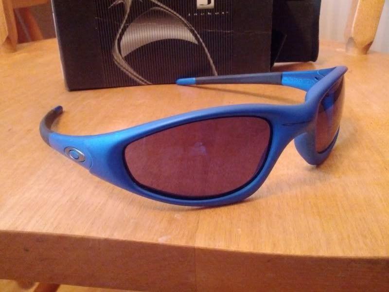 Ooooooooooh Boy!  What A Pickup! New Straight Jackets Electric Blue W/ Ice Polarized - IMG_20120802_183124.jpg