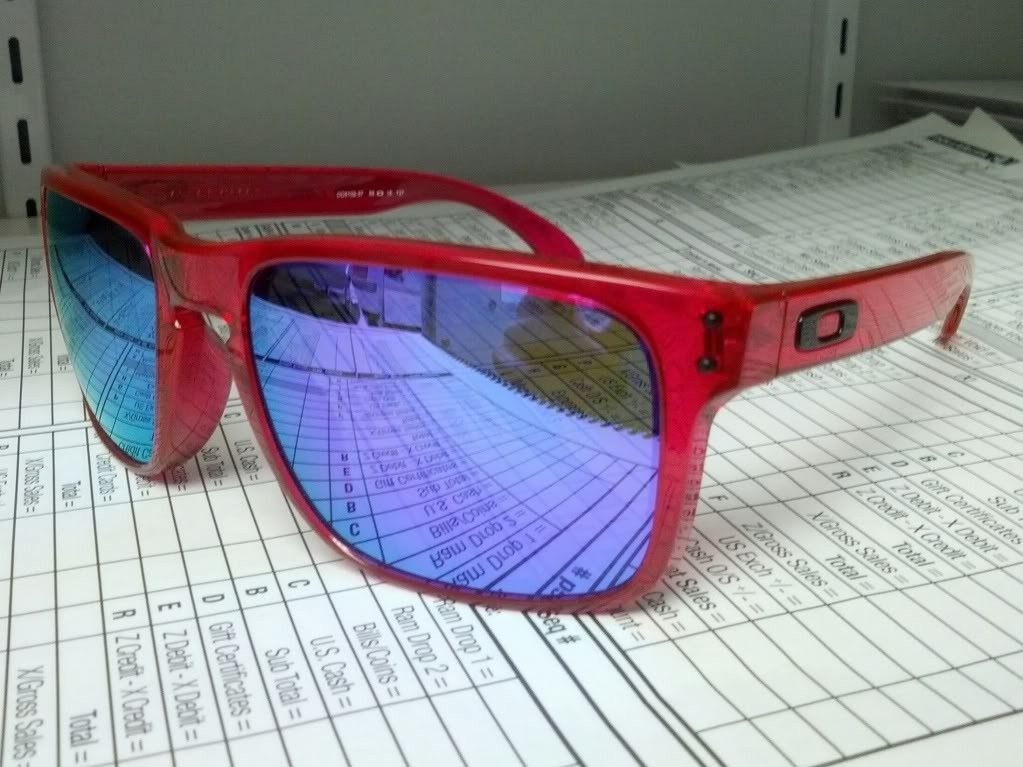 Custom Crystal Pink/Violet Iridium Holbrooks - IMG_20130811_125431_zps20a7e7b3.jpg