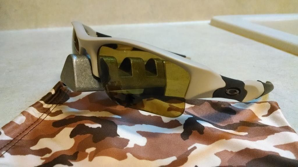Desert Tan/Bronze Polarized Flak Jacket XLJ  SI-Exclusive Like New - IMG_20140325_223429935_zpsjwp5ovv9.jpg