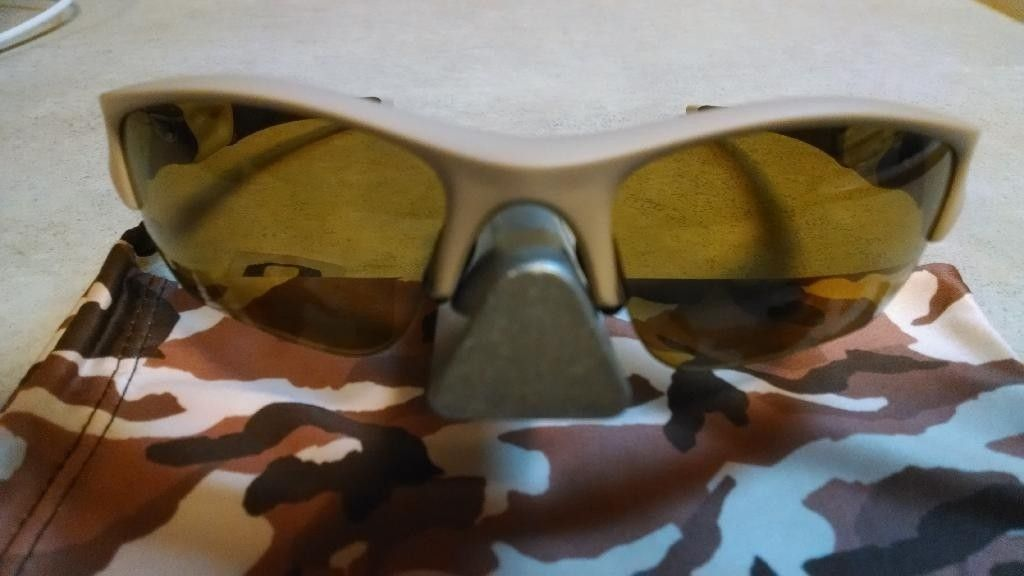 Desert Tan/Bronze Polarized Flak Jacket XLJ  SI-Exclusive Like New - IMG_20140325_223501625_zpsigcyc4ky.jpg