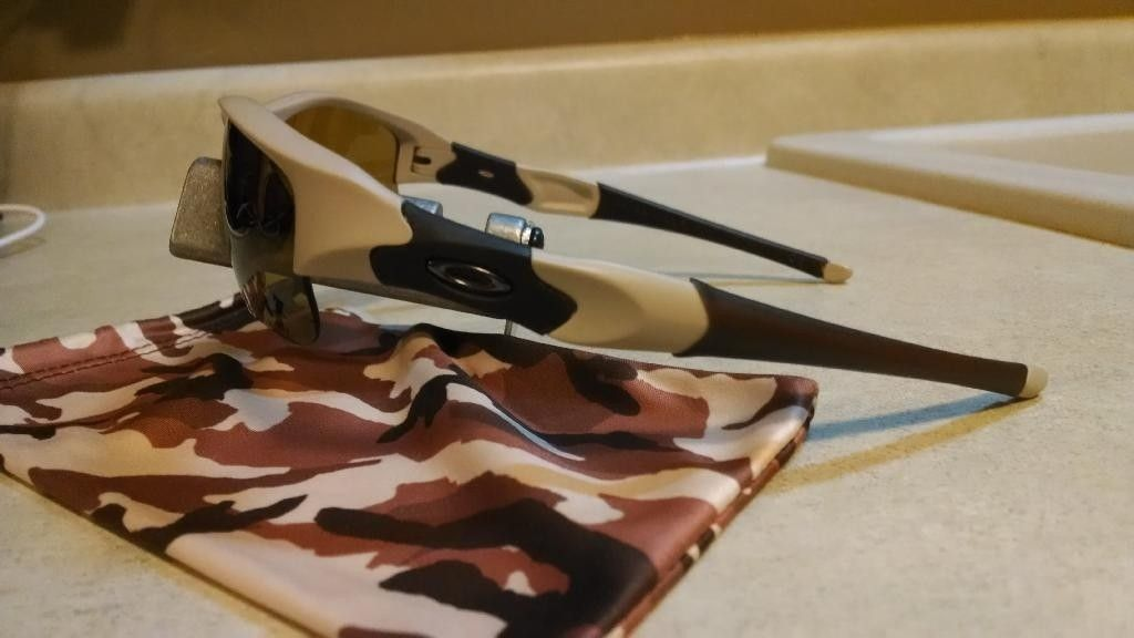 Desert Tan/Bronze Polarized Flak Jacket XLJ  SI-Exclusive Like New - IMG_20140325_223849985_zpsomnmjmnz.jpg