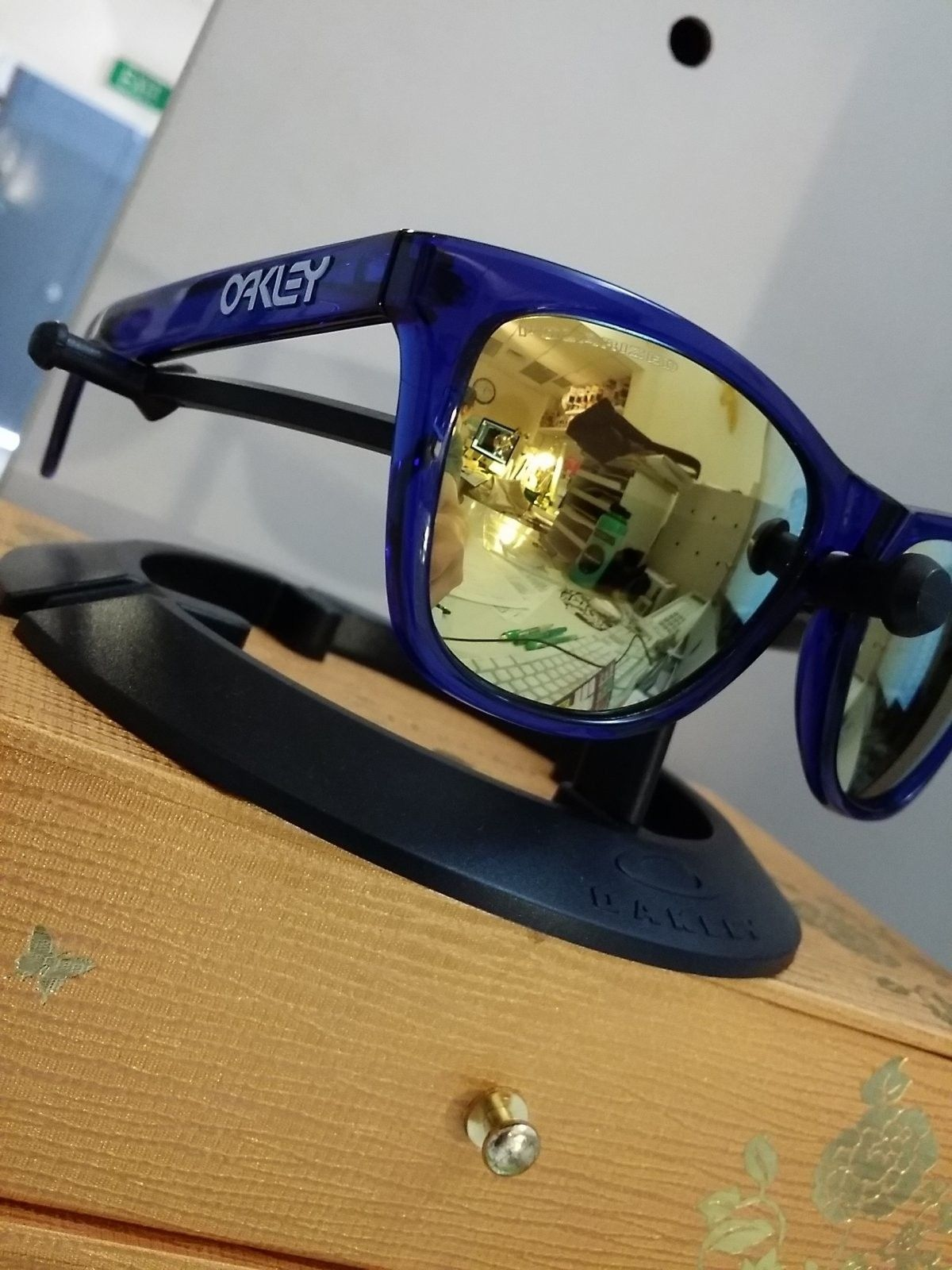 Jetty Surf(Crystal Blue) With Polarized 24k Lenses, Looking For RootBeer Cyan Fade MIB - IMG_20140404_112136.jpg