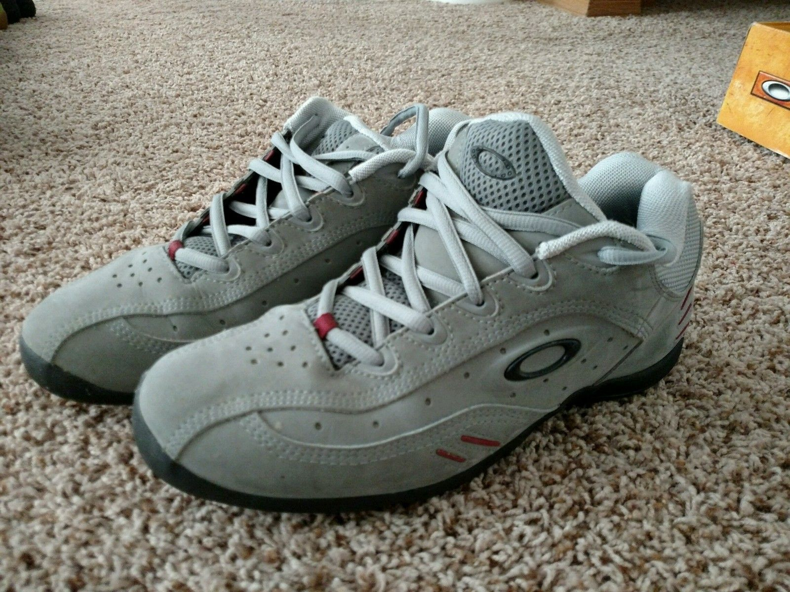 Oakley Size 12 Shoes White Leather - IMG_20150625_084322.jpg