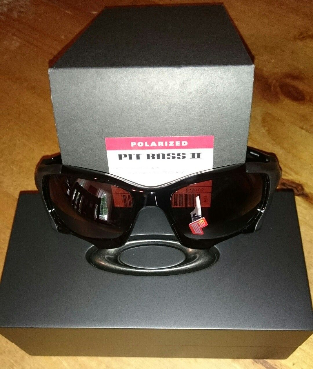 BNIB Pit Boss 2 - Polished Black with VR28 BIP - IMG_20150814_162822.JPG