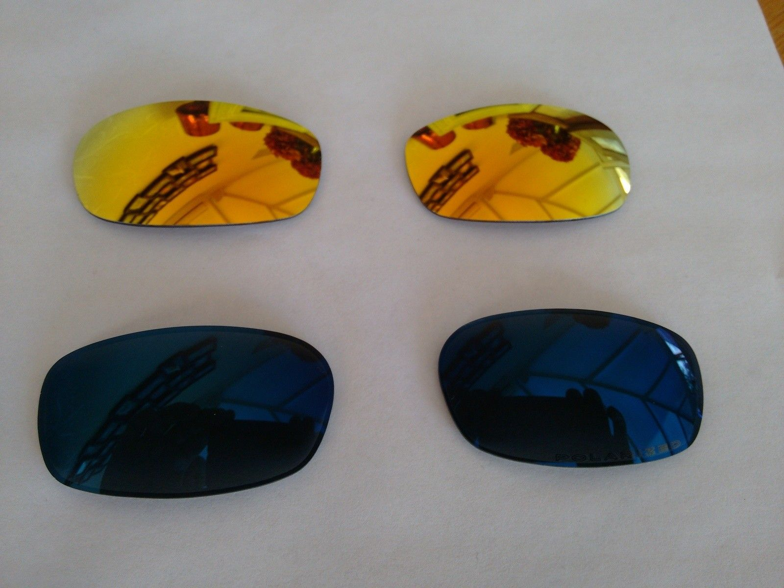 Brand new Square wire 2.0 sprung hinge lenses ice polarized/fire - IMG_20150827_164333436.jpg