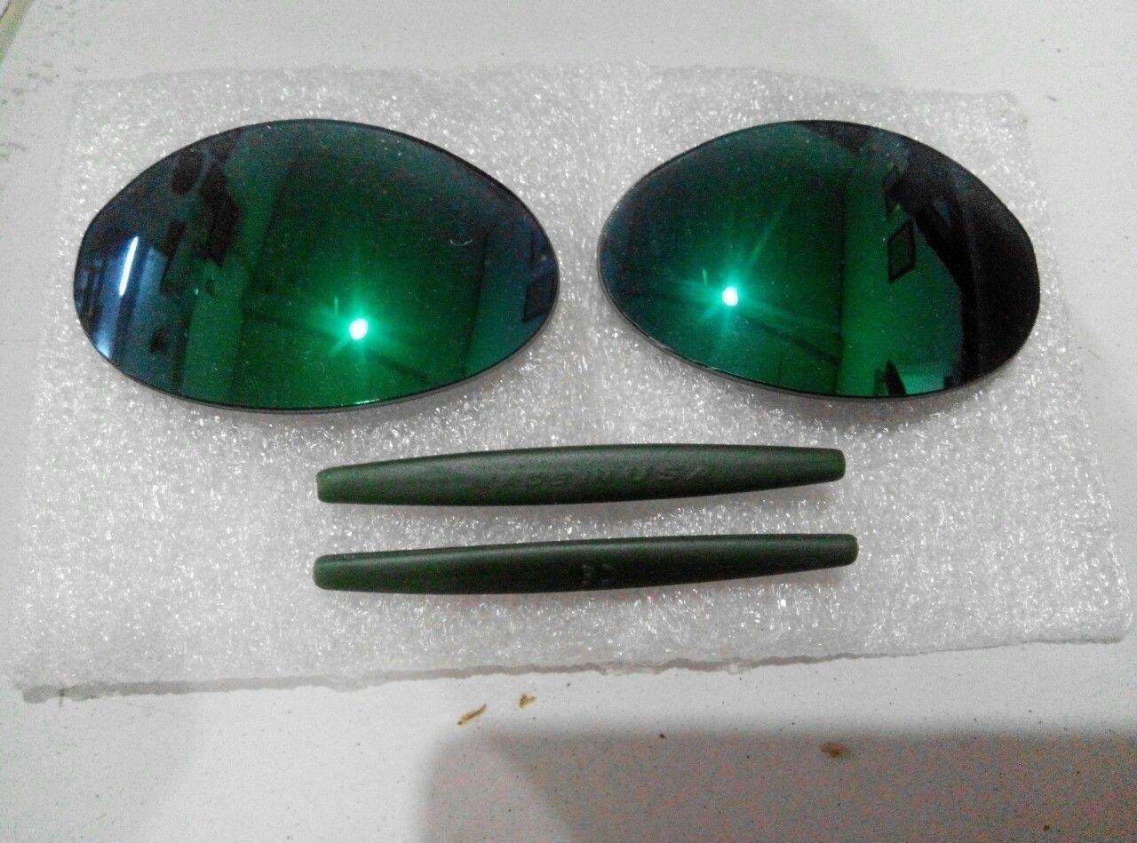 Jade iridium polarized r1 lens & ichiro green earsock - IMG_20150901_205342_1441115896799.jpg