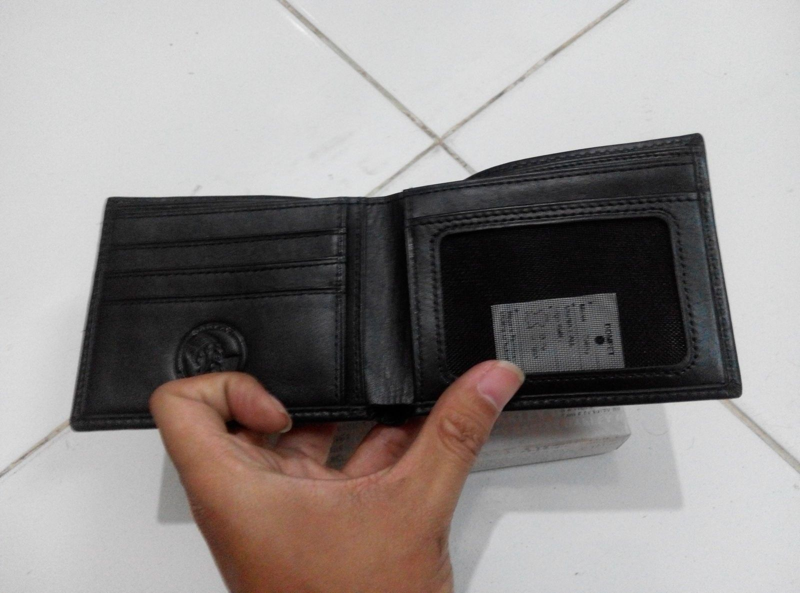 Moneyclip with leather wallet & leather wallet - IMG_20150902_175424.jpg