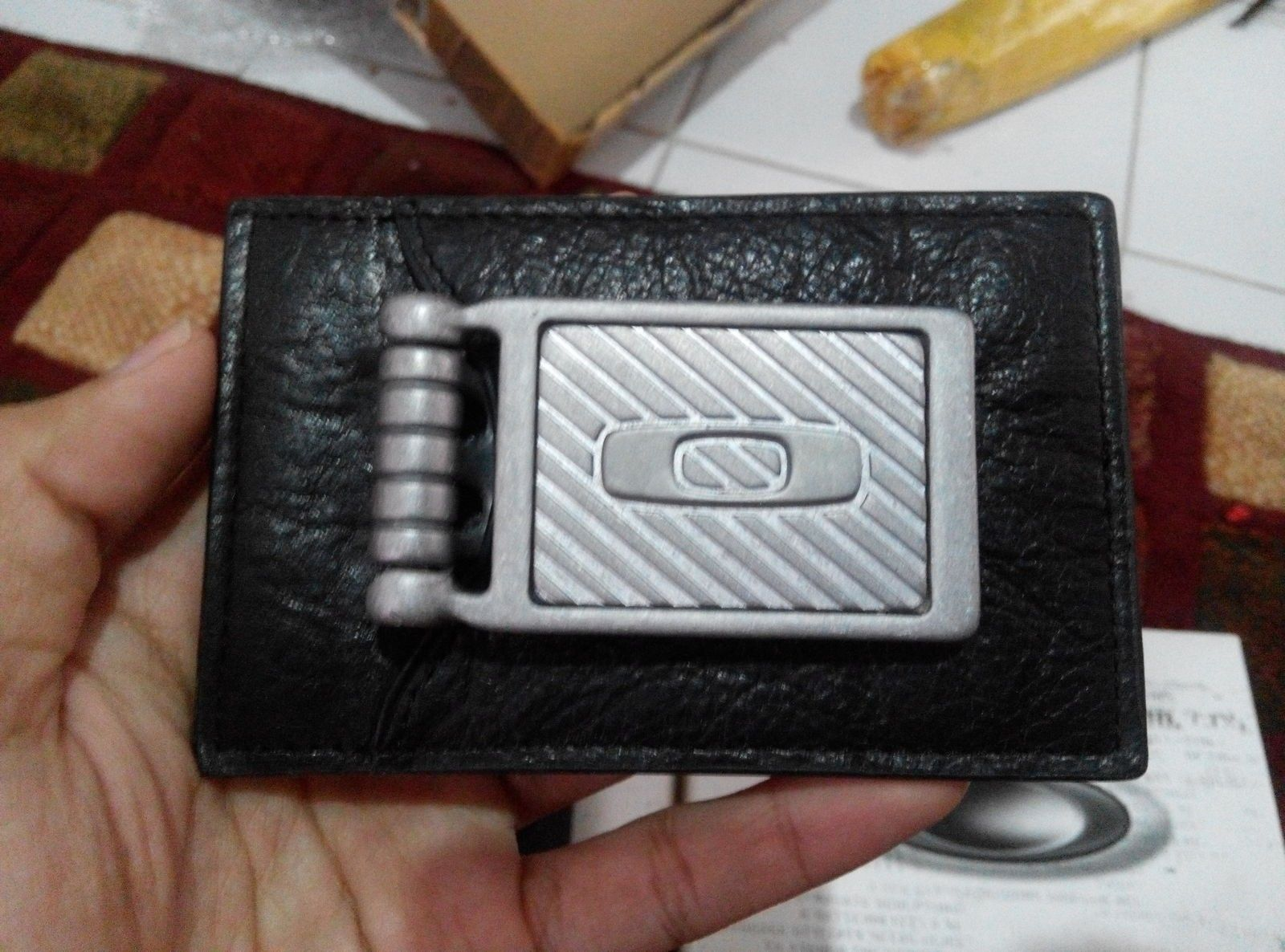 Moneyclip with leather wallet & leather wallet - IMG_20150913_145123.jpg