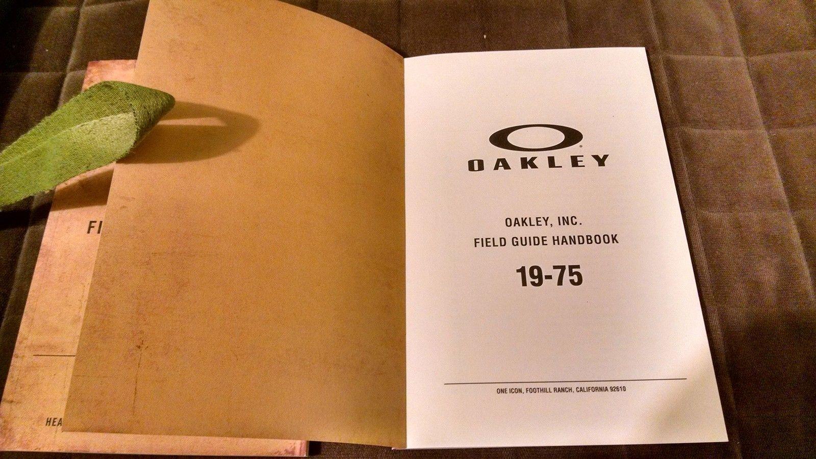 Oakley Field Guide Handbook (employee manual) - IMG_20151204_184632820_HDR.jpg