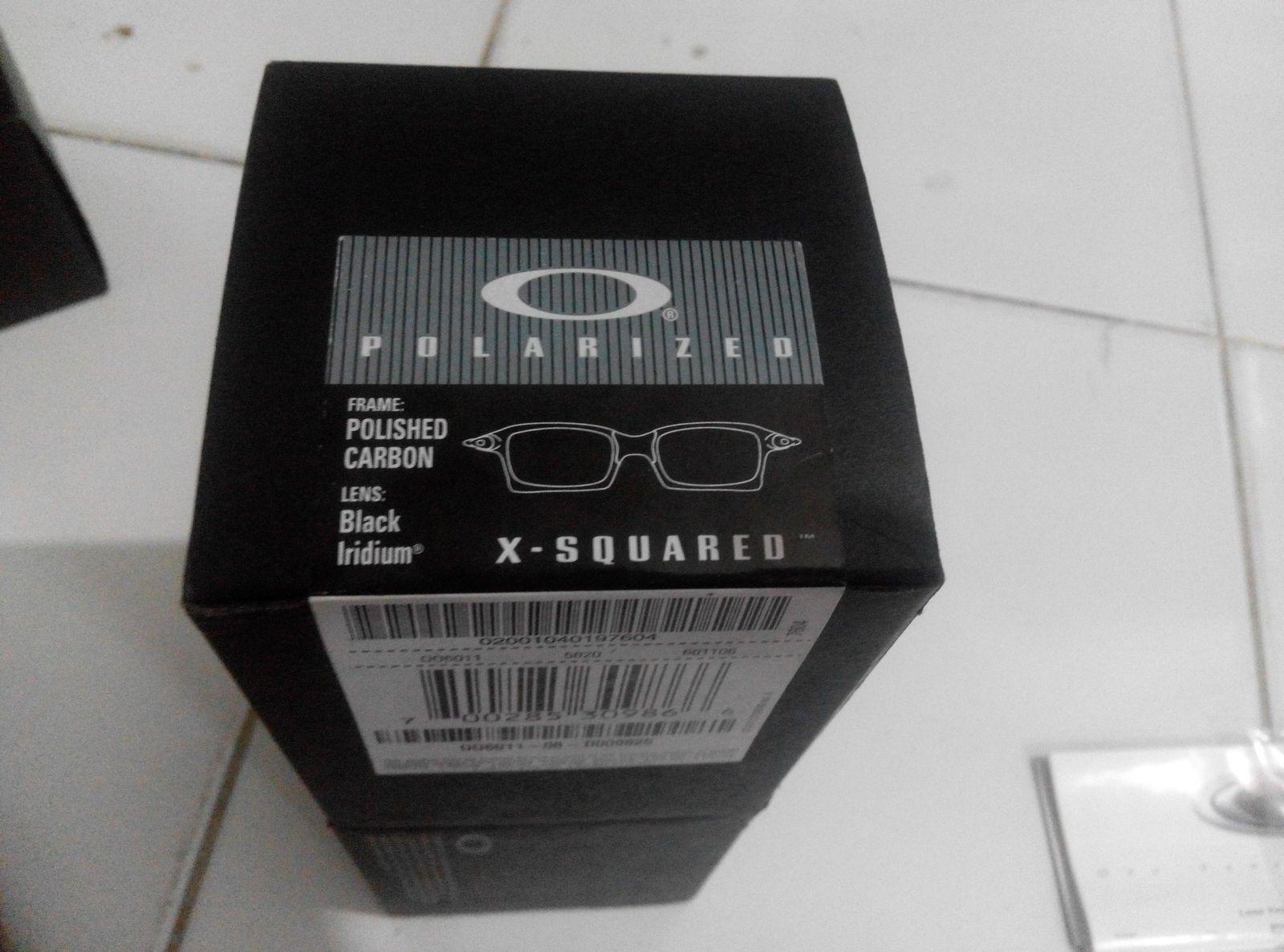 xsquared polished carbon with BIP lens. NIB - IMG_20151208_172025.jpg