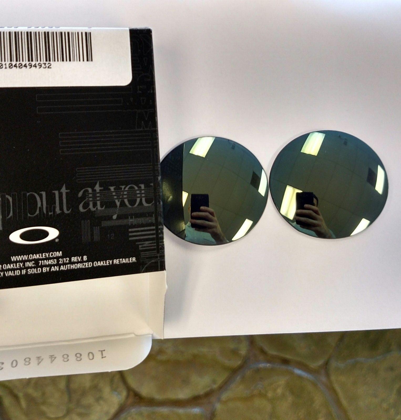 Rare OTT Custom Cut Emerald Authentic Oakley Lenses - IMG_20160518_232532.jpg