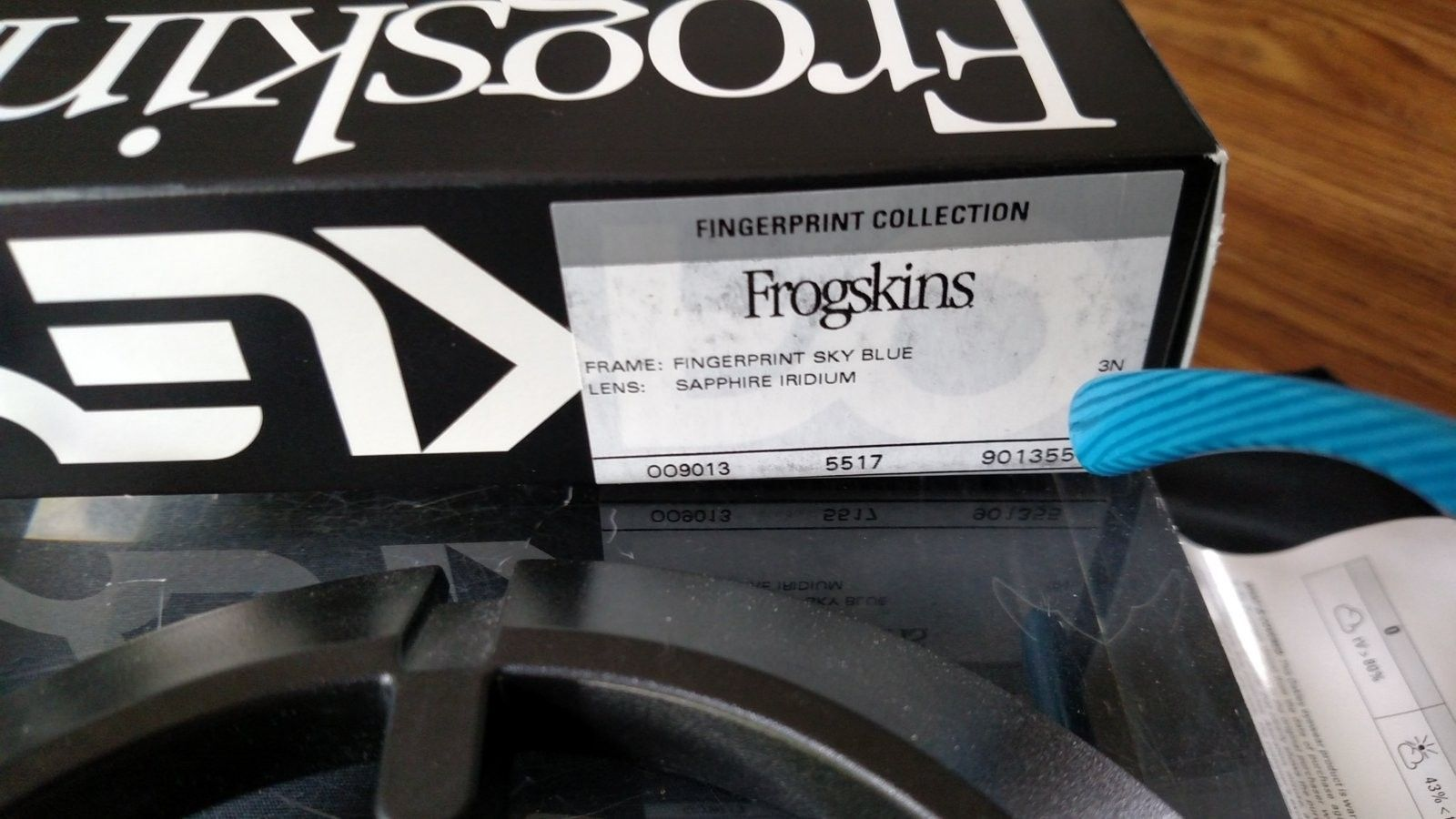 Frogskin, Sky Blue Fingerprint with Sapphire Iridium - BNIB - IMG_20160521_120705523.jpg