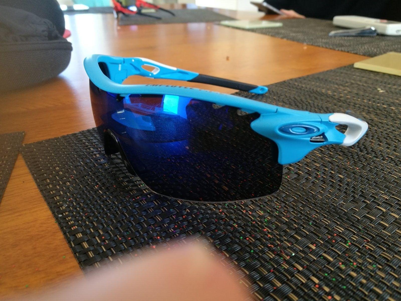 Radarlock XL Glacier blue help!: Not sure if Authentic or not - IMG_20160720_141456.jpg