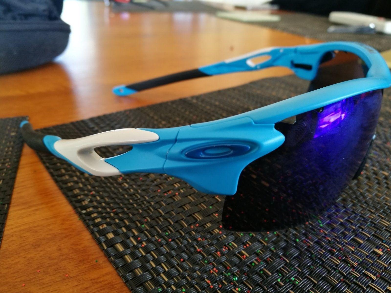 Radarlock XL Glacier blue help!: Not sure if Authentic or not - IMG_20160720_141512.jpg