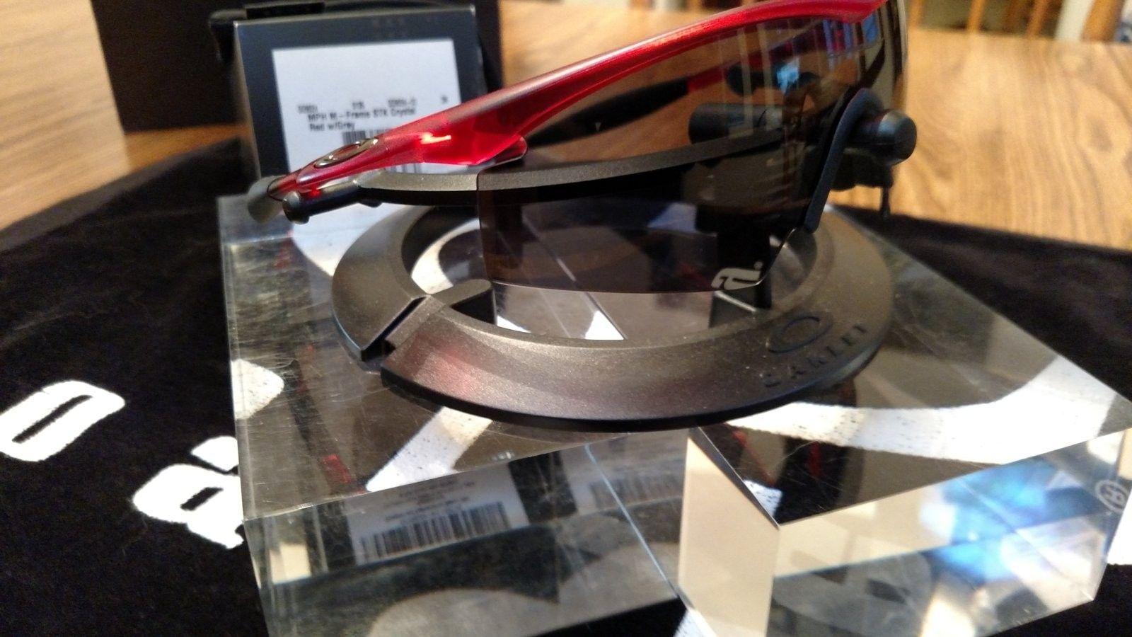 M-Frame Red Crystal w/Grey Lens BNIB - IMG_20160806_194740740.jpg