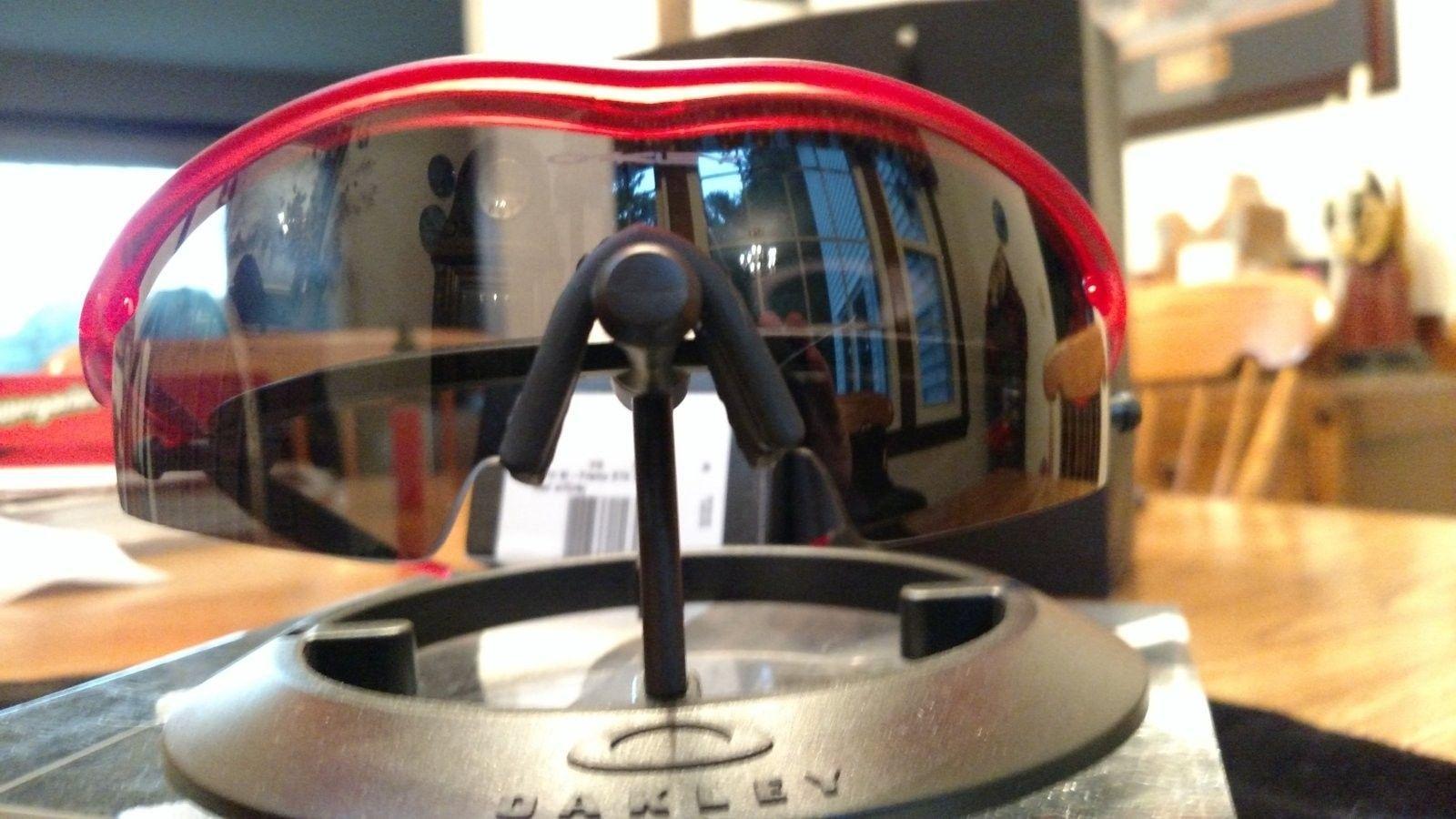 M-Frame Red Crystal w/Grey Lens BNIB - IMG_20160806_194931494.jpg