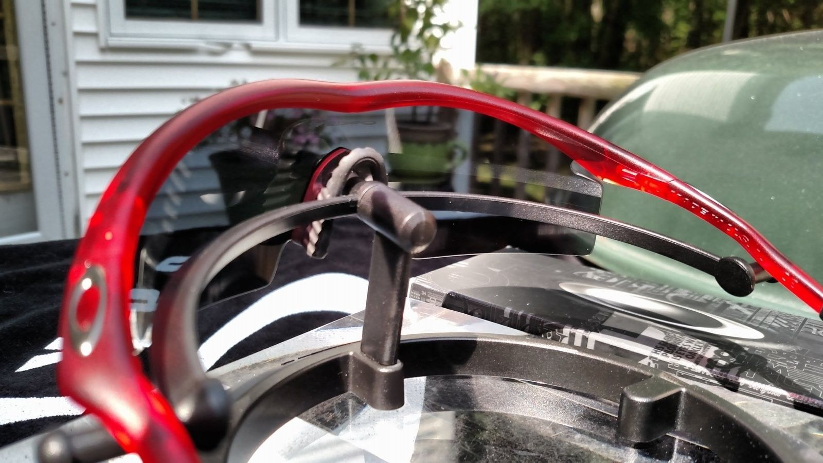 M Frame w/Crystal Red Frame, Grey Lens - BNIB - IMG_20160903_131640549.jpg