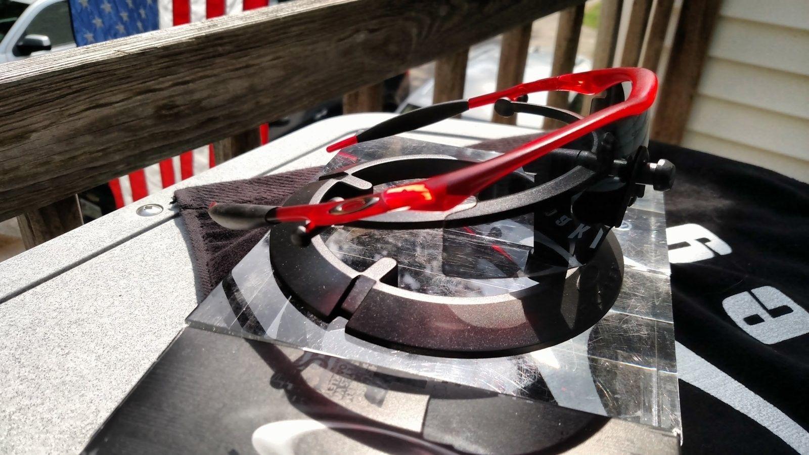 M Frame w/Crystal Red Frame, Grey Lens - BNIB - IMG_20160903_131648748.jpg