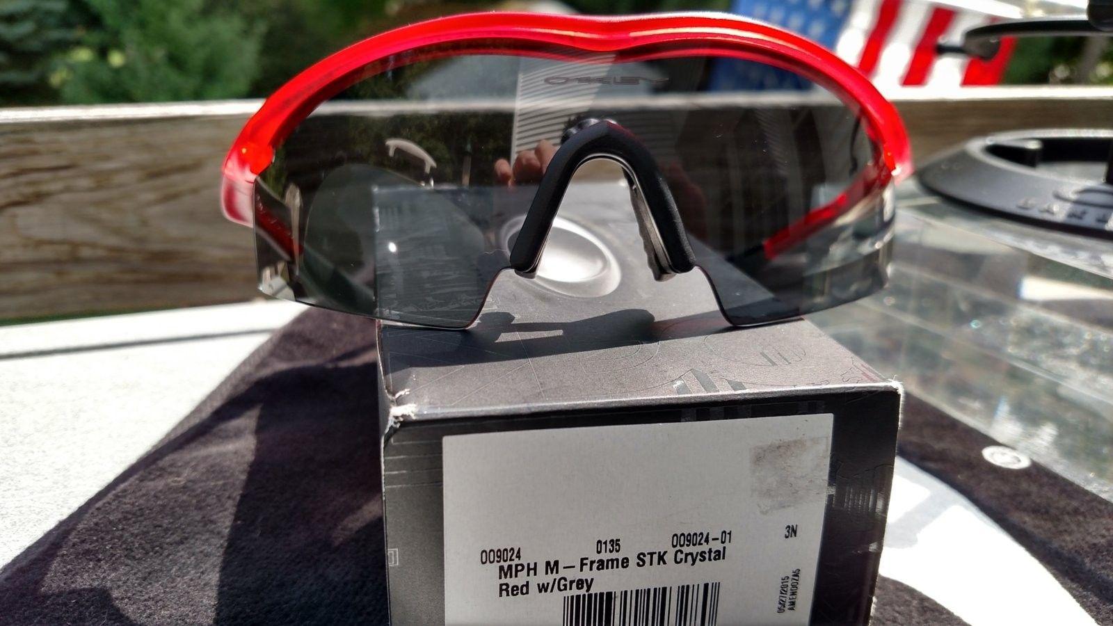 M Frame w/Crystal Red Frame, Grey Lens - BNIB - IMG_20160903_131759992_HDR.jpg