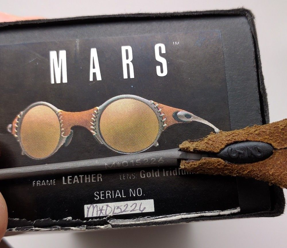 $OLD X-Metal Leather/Gold Mars SKU 04-104 COMPLETE & EXCELLENT - IMG_20160919_170754.jpg
