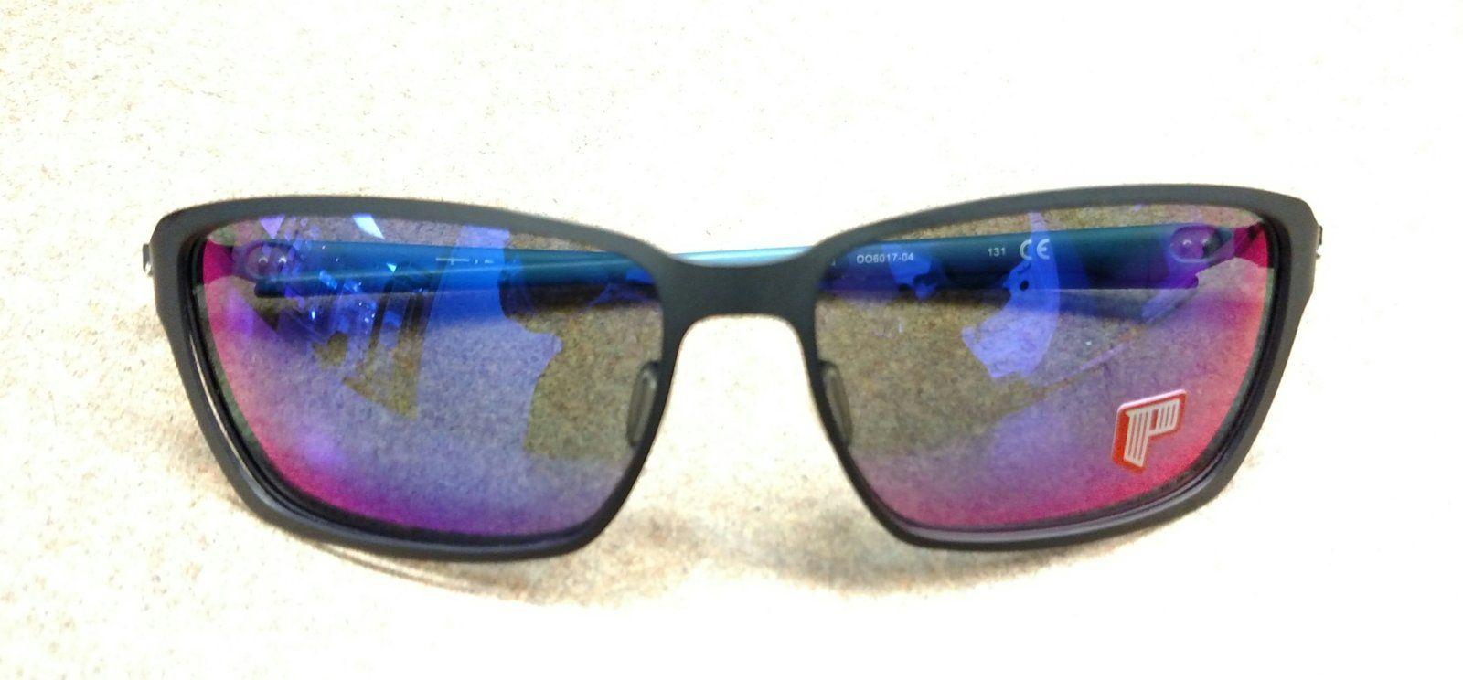 62e2cdfb44653 Sold - Tincan Carbon! Matte Black OO6017-04 Excellent Polarized  85 ...