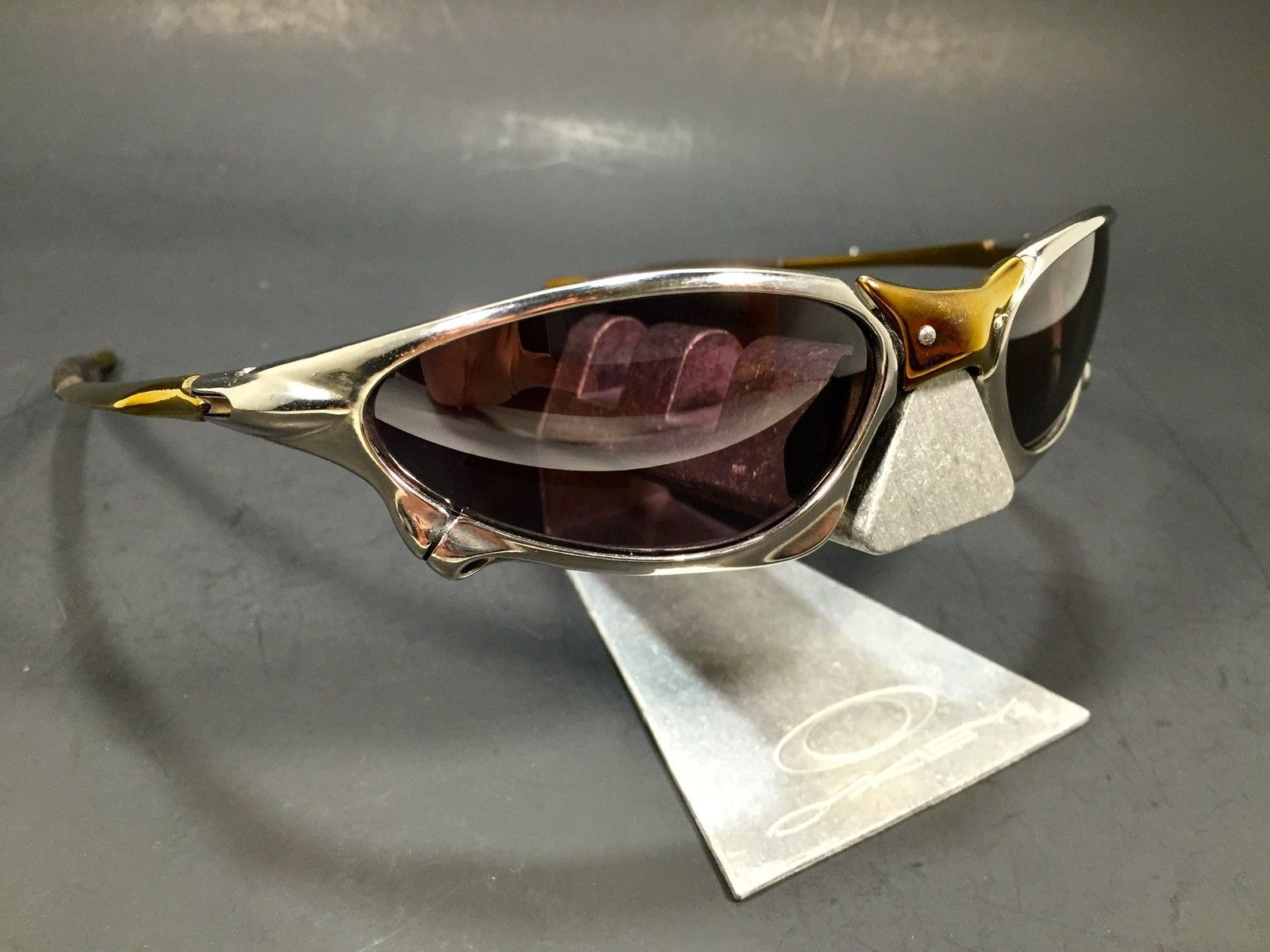 Anodized Ti-Cu Polished Penny w/ Prizm Daily Polar Lenses - IMG_2155.JPG