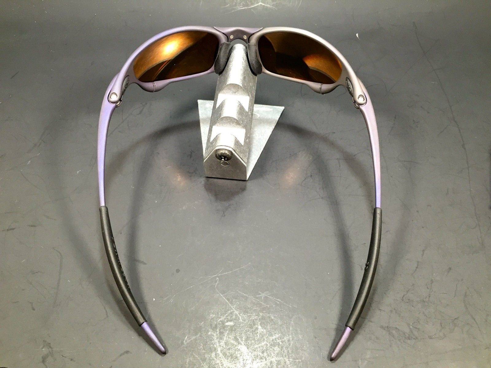 Anodized Purple X Metal Juliet w/ Fire Lenses $299 - IMG_2159.JPG