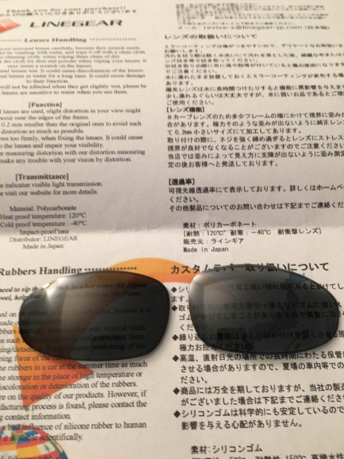 Linegear Oakley Juliet NXT Lens Review - IMG_2334.JPG