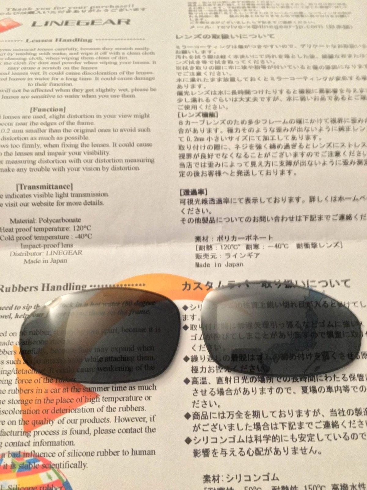 Linegear Oakley Juliet NXT Lens Review - IMG_2335.JPG