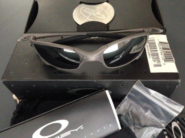 Oakley XMetal Juliet (Black Iridium) 1st Gen with matching serial box, coin, xvault ($355) - IMG_2412.JPG