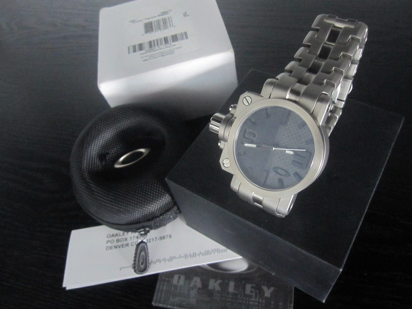 BNIB Gearbox Titanium Bracelet Watch - OW0004-01 - IMG_2493.JPG