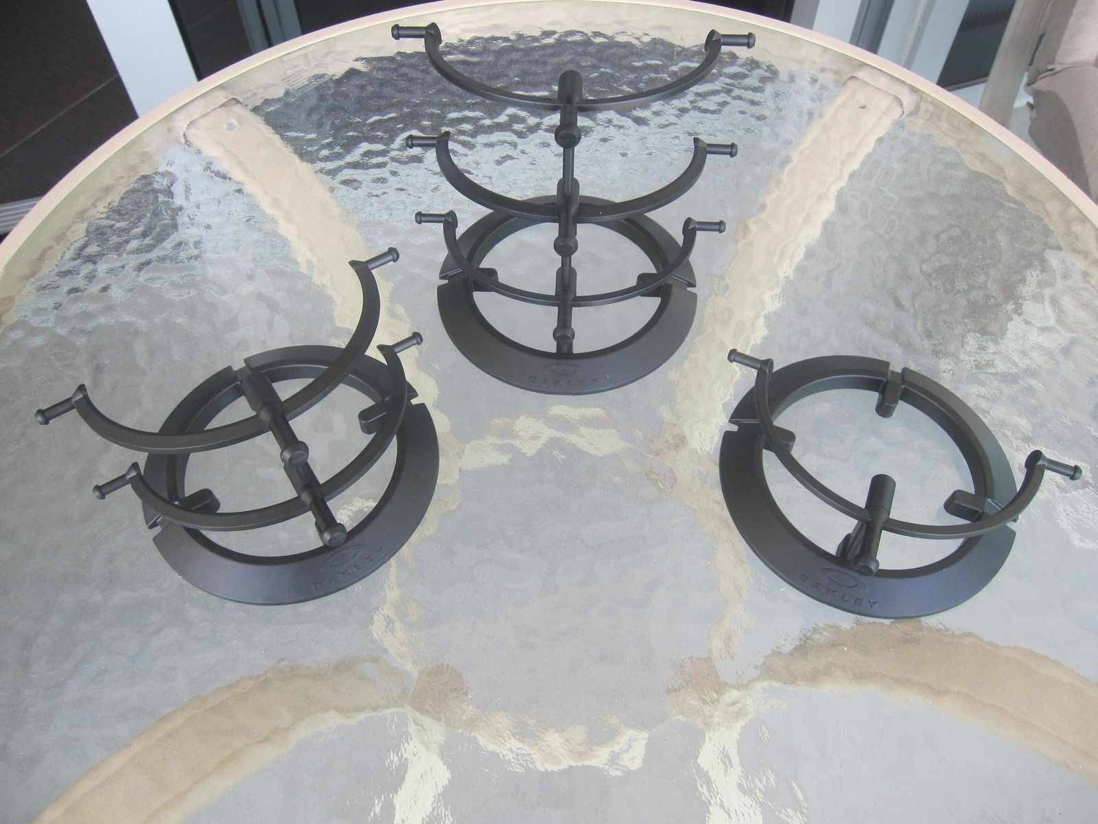 Display stands - black plastic - Priced to sell fast - All SOLD - IMG_2505.JPG