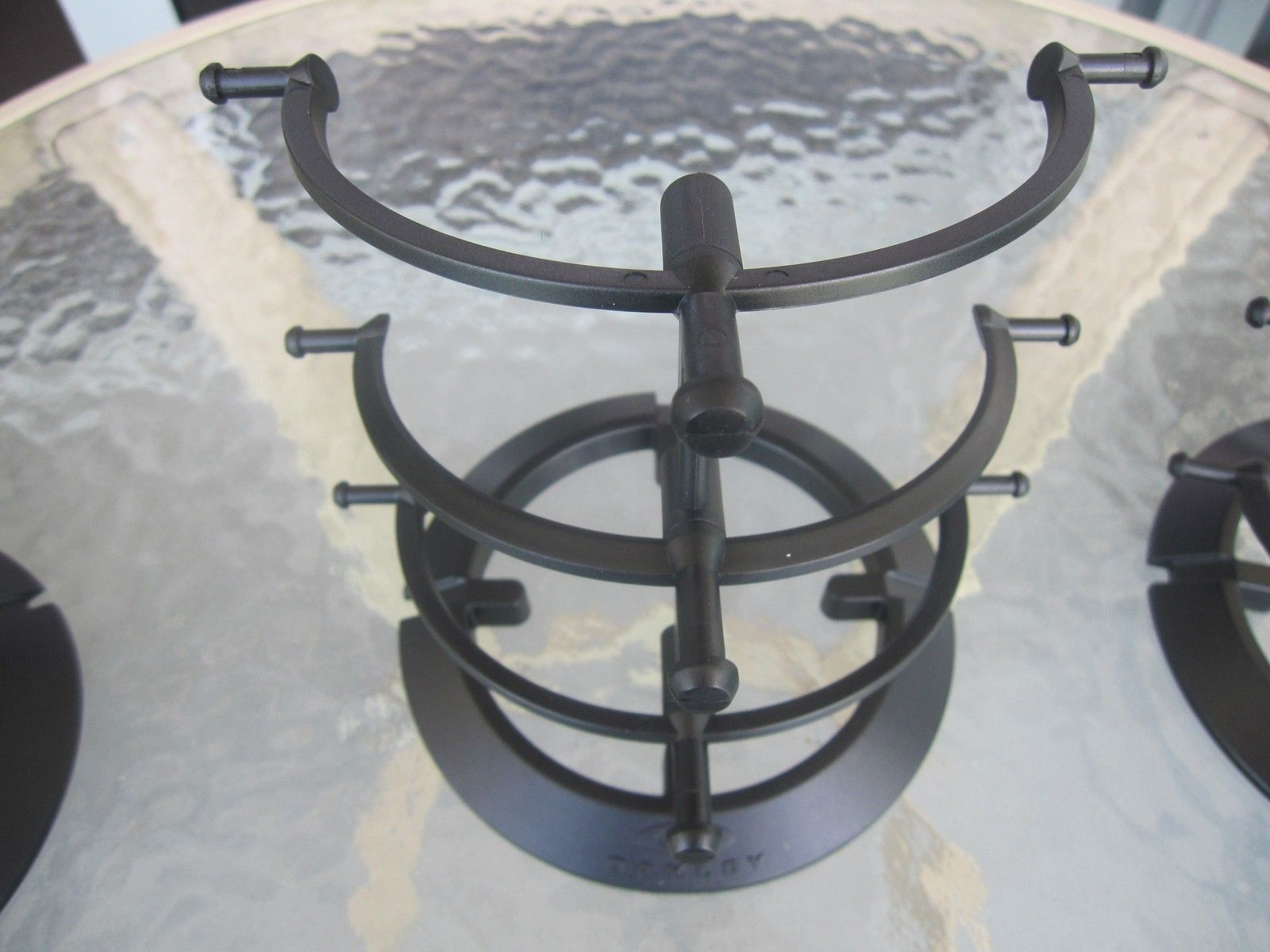 Display stands - black plastic - Priced to sell fast - All SOLD - IMG_2511.JPG