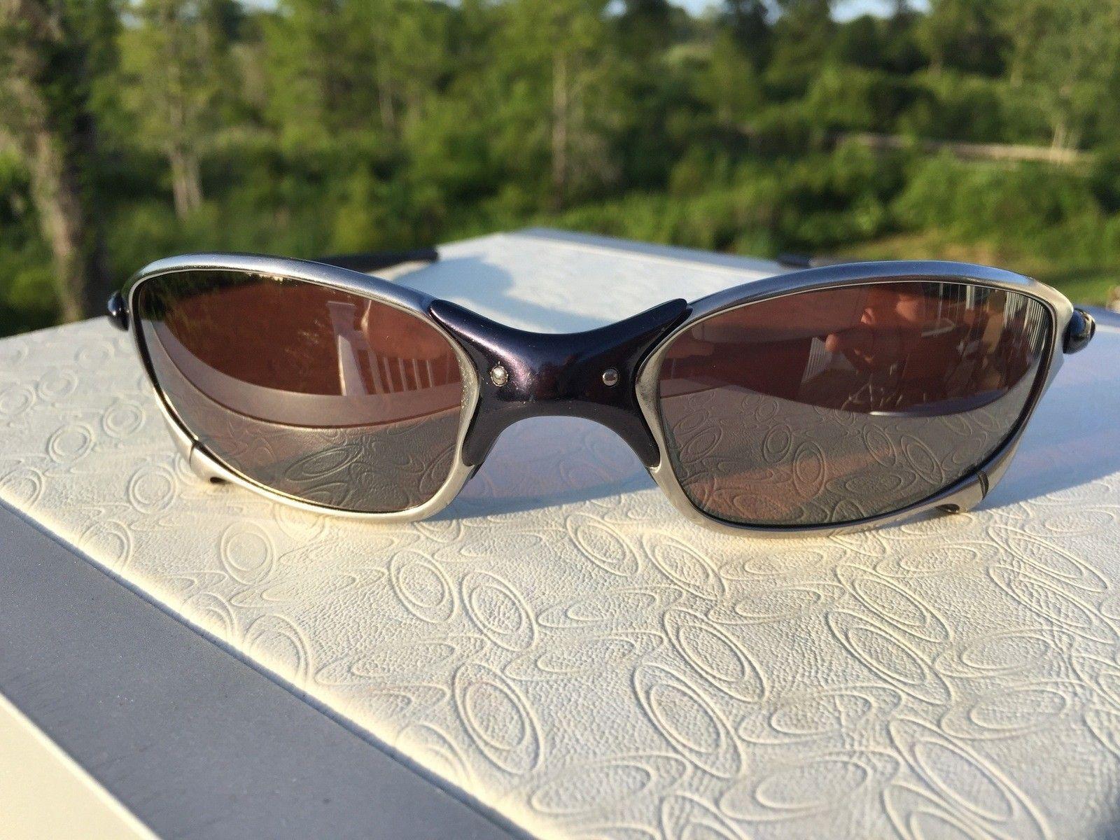 Oakley Juliet Custom Ti-02 Polished Black w/ Vr28 Black Polar - IMG_2689.jpg