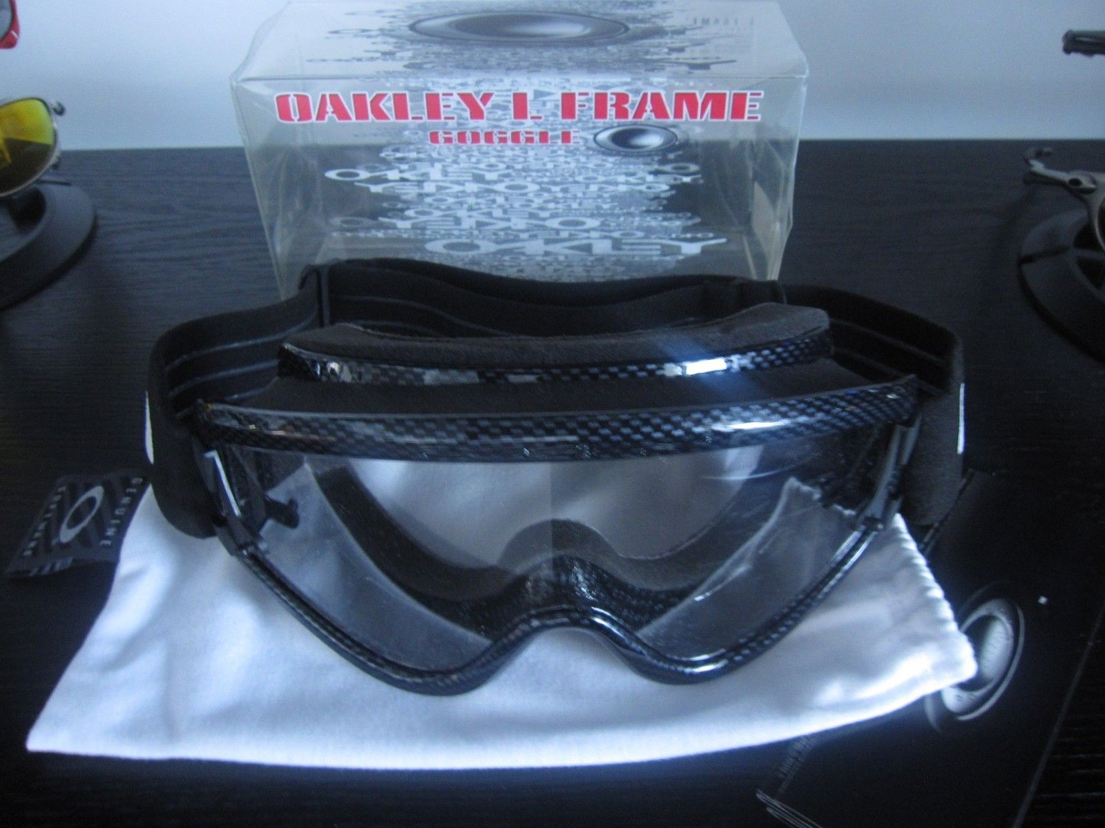 3a25dc1aae72 OAKLEY L FRAME MX - Over Glasses goggles Atv Moto dirt - Carbon Fiber ...