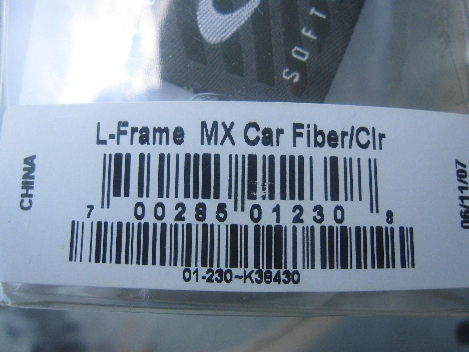 OAKLEY L FRAME MX - Over Glasses goggles Atv/Moto/dirt - Carbon Fiber - IMG_2805.JPG
