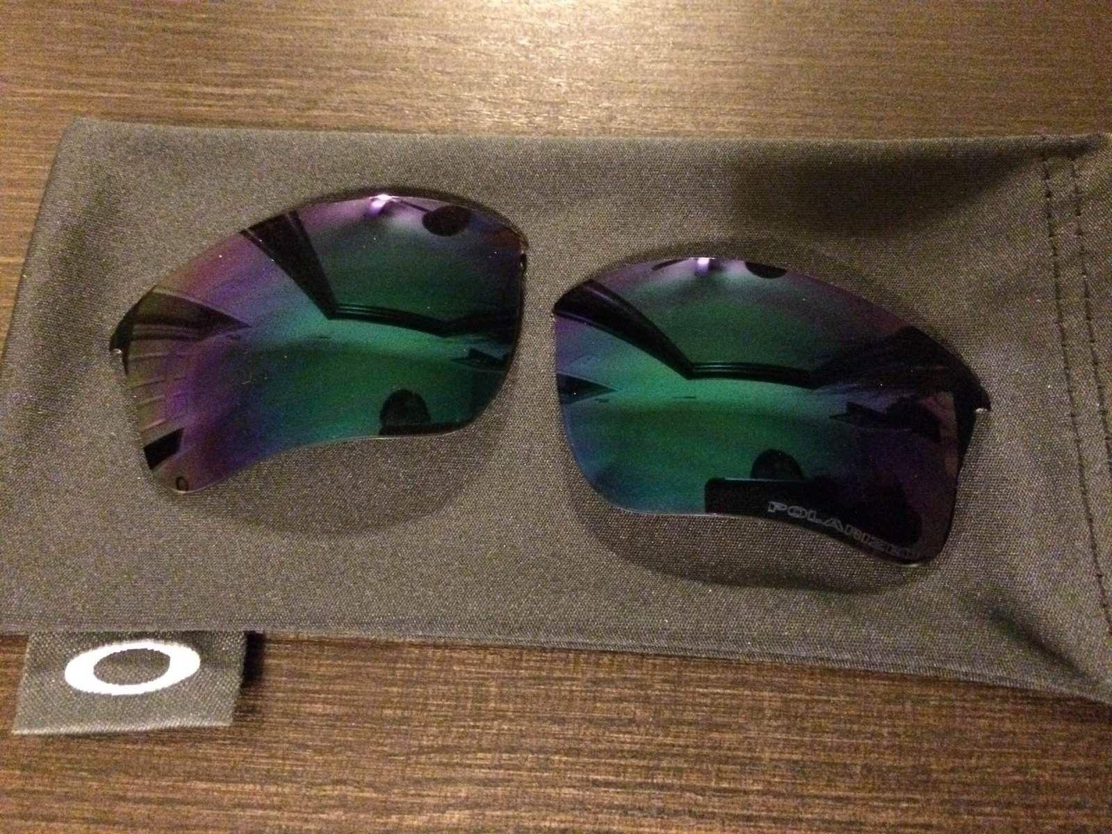 Flak Jacket XLJ Jade Iridium Polarized Lenses - IMG_2811.JPG