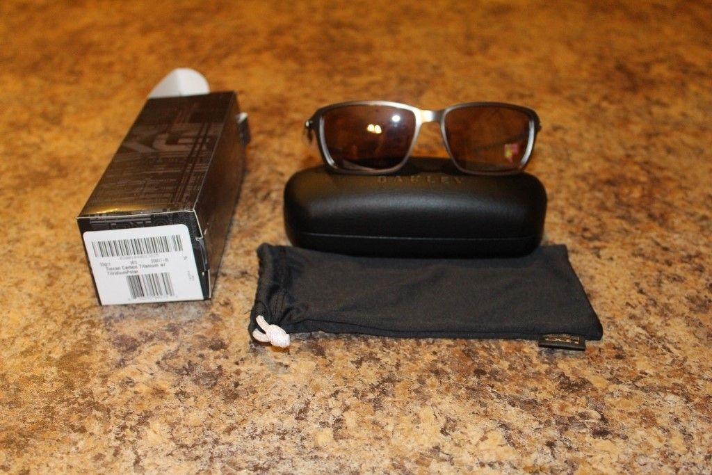 New in box Oakley Tincan Carbon Titanium with Titanium Iridium Polarized Lenses - IMG_2873 (1024x683).jpg