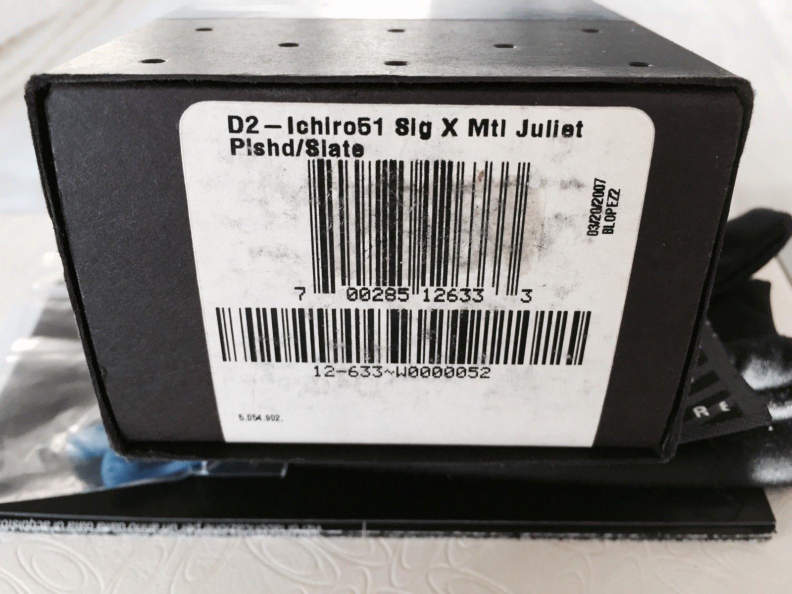 Juliet ICHIRO Polished Slate BNIB Serial 437 - IMG_3006.jpg