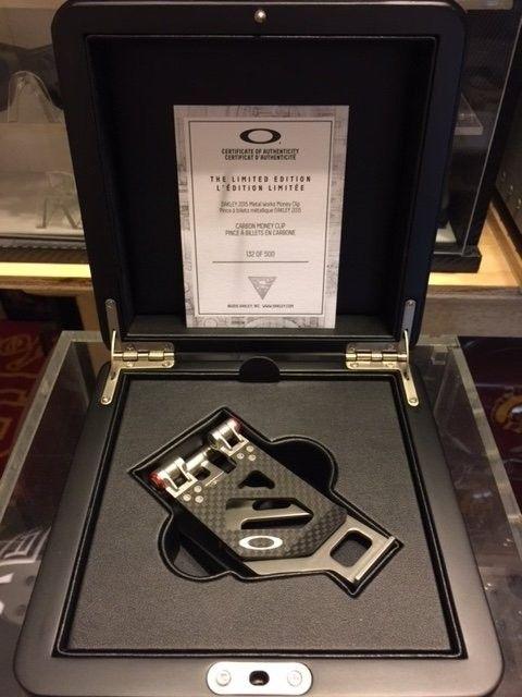 Oakley Carbon Fiber METALWORKS Money Clip #132 SOLD - IMG_3056.JPG